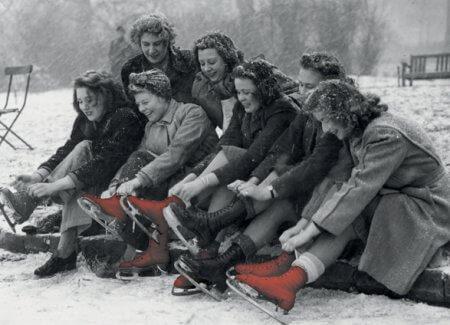 Ladies Skating