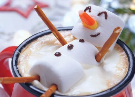Mallow Snowman