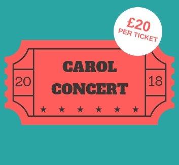 Carol concert ticket