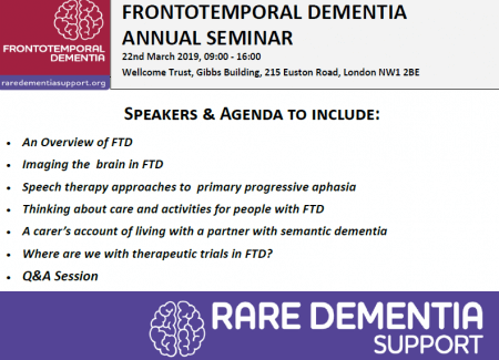 Frontotemporal Dementia Annual Seminar