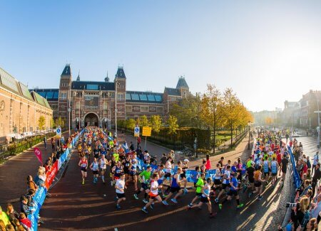 Amsterdam Half and Full Marathon