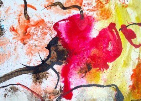 """""""Painting cheered my brain up"""""""