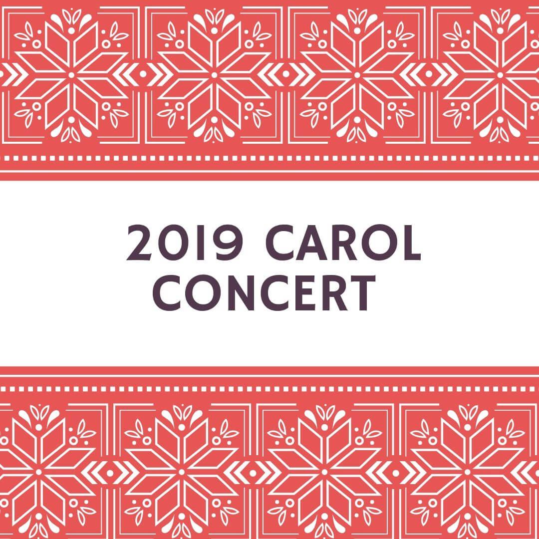 2019 Carol Concert