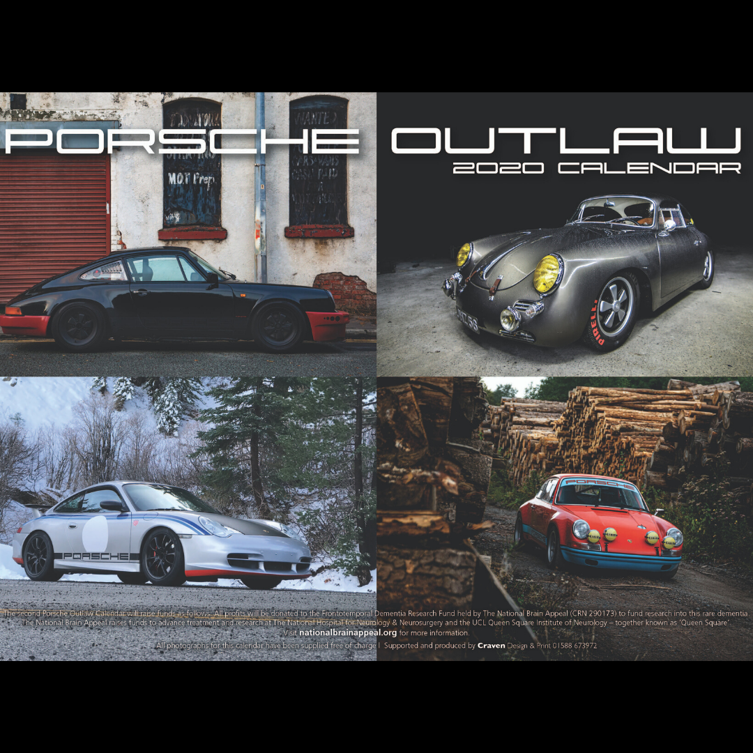 Porsche Outlaw 2020 Calendar – Overseas orders